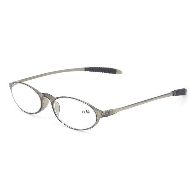 Flexible Legs Plastic Frame Reading Glasses LH 237 for Men and Women ...