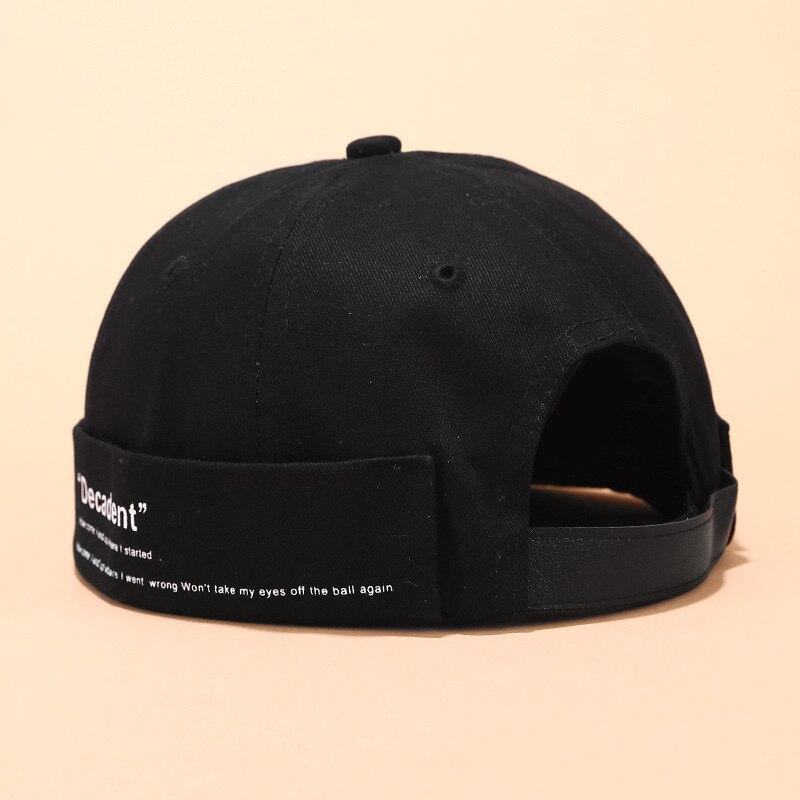 2019 Vintage Dome Hat Men's   Beanies   For Men Retro Crimping Brimless Skull Caps Autumn Summer Casual Hip Hop Cap Gorro