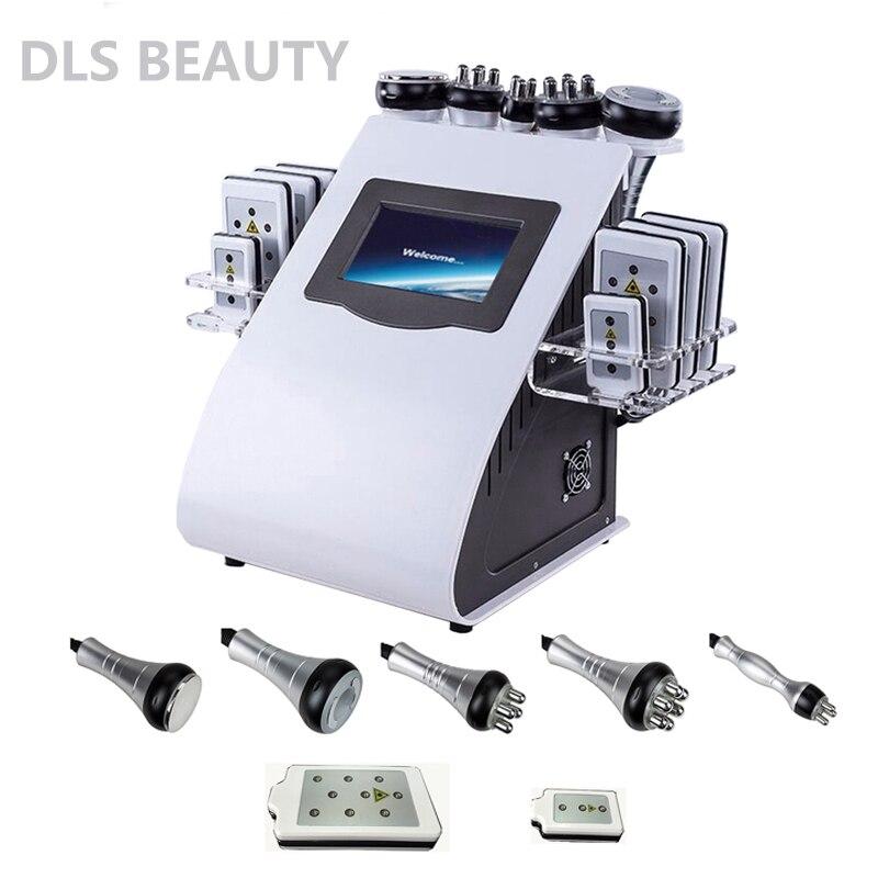 40 K Cavitação Ultra-sônica a Perda de Peso Máquina Da Beleza Multi-polar RF Rádio Freqüência Anti-rugas Rejuvenescimento Da Pele Aperte