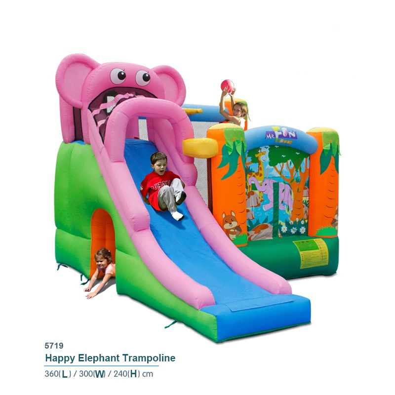 New Bouncy Castle Bounce House With Big Slide Inflatable