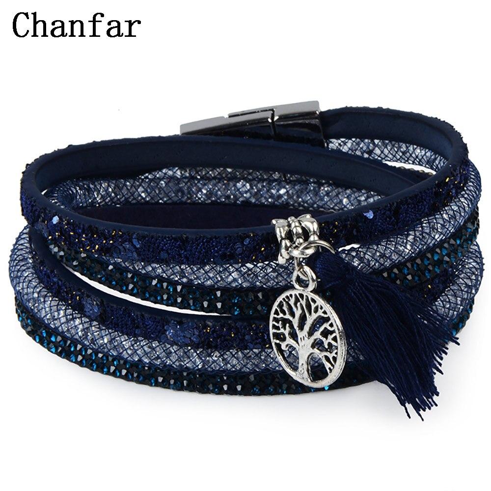 12Styles Multilayer Leather Tassel Bracelet Bohemian Feathers