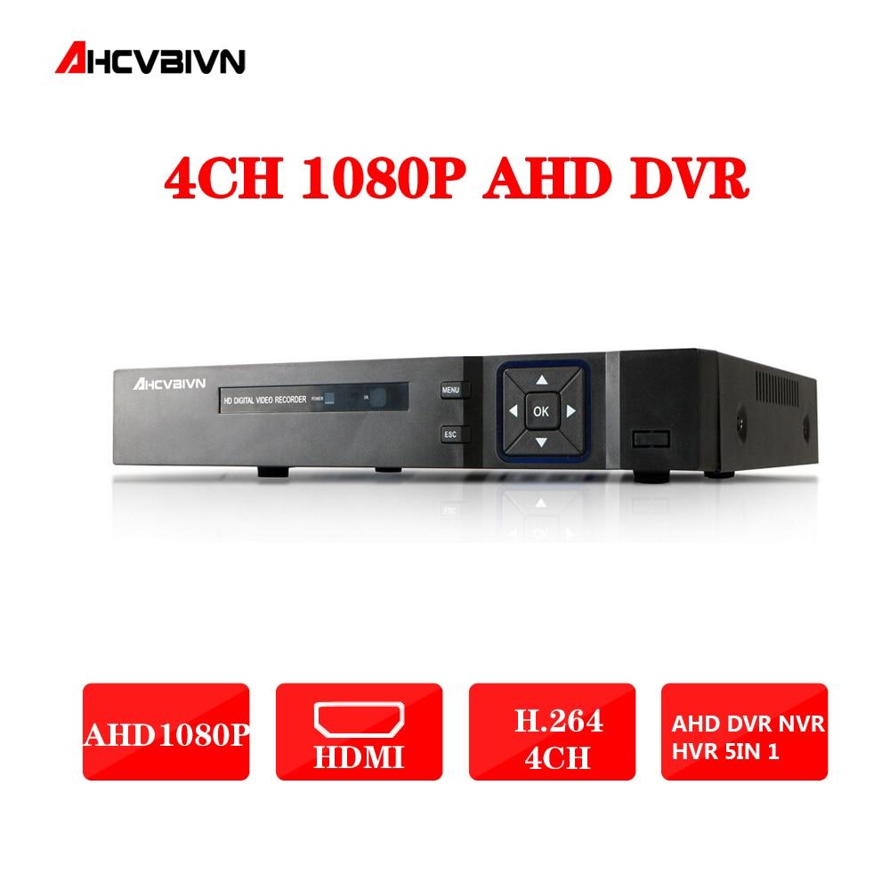 4CH AHD DVR Recorder 1080P 720P 960H Network DVR 4 Channel H.264 CCTV 4CH DVR HVR NVR System P2P Digital Video Recorder 4ch ahd dvr recorder 1080p 720p 960h network dvr 4 channel h 264 cctv 4ch dvr hvr nvr system p2p digital video recorder