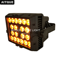 30pcs Outdoor building decoration lights led exterior wall light 20x15w rgbwa 5in1 ip 65 waterproof led wall washer