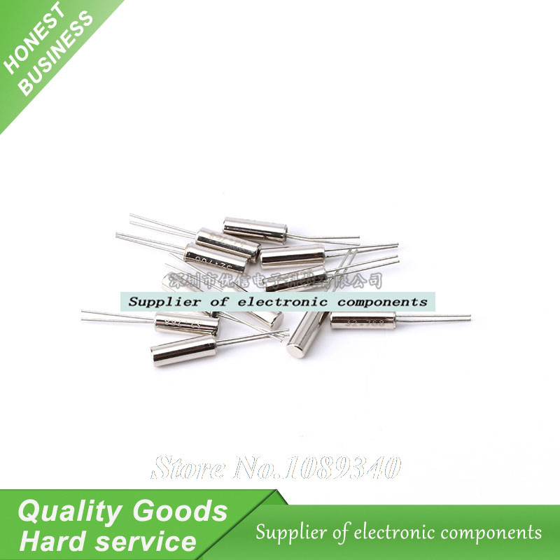 20pcs 32.768KHZ 2*6 12.5PF JU-206 32.768K 32768 32.768 DIP New Original Free Shipping