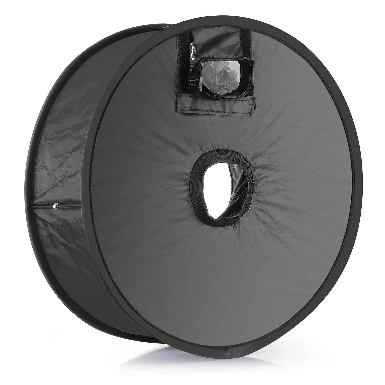 Vòng Softbox Difuser Macro Bắn Mềm box Có Thể Gập Lại SpeedLite Flash light 45 cm cho DSLR Máy Ảnh Canon Nikon SB910/SB900/SB800