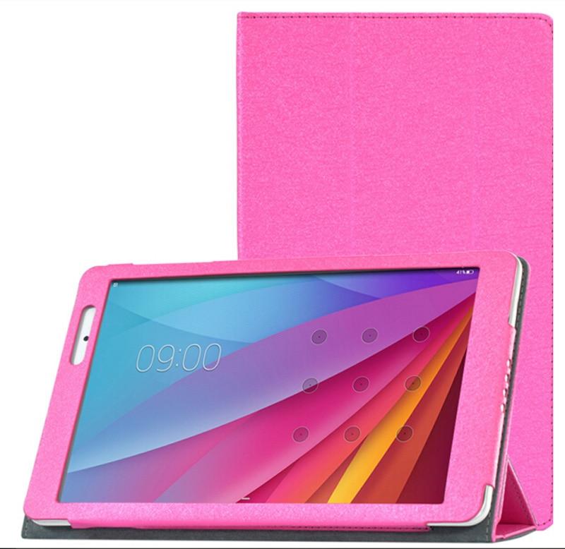 Nowe 3-folderowe luksusowe ultra-cienkie jedwabne wzory Folio Stand - Akcesoria do tabletów - Zdjęcie 3