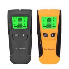 3 в 1 металлоискатель искатель деревянные шпильки детектор переменного напряжения живой провод детектор стены сканер детектор стены