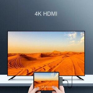 Image 2 - USB C HUB Per iPad Pro 2018 Tipo C HUB Con USB C PD di Ricarica 4K HDMI USB 3.5 millimetri cuffia Martinetti