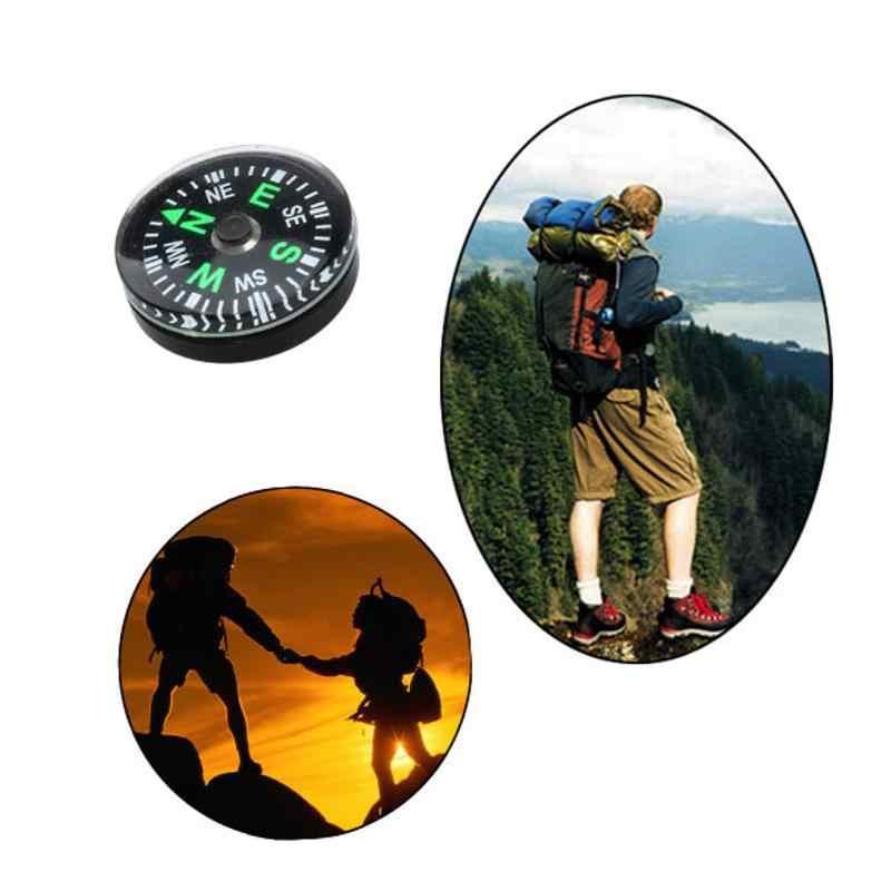 新ホット販売 12 ピース/セット 20 ミリメートル屋外防水キャンプハイキング旅行スモールミニコンパス高品質プロモーション