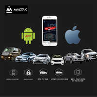 Universal pke inteligente chave smartphone remoto iniciar parada de controle alarme do carro botão segurança com android/ios entrada keyless passiva