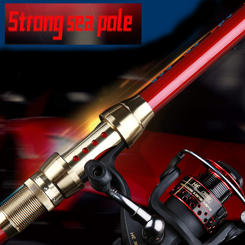 TAIYU 2.1M-3.6M Portable 5-7Section Telescopic Carbon Sea Spinning Hand Fishing Rod Pole Super Long Fishing Rod portable 5 section telescopic fishing rod pole 2 1m length