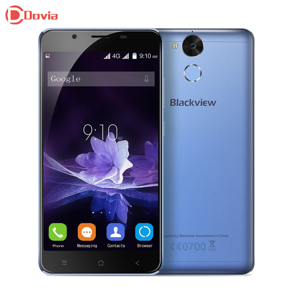 Blackview P2 4G Telephone 5 5 inch MTK6750 Octa Core 4GB RAM 64GB ROM Fingerprint Scanner