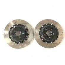 Jekit 330*32 мм рифленые тормозной диск площадь 60 мм(разрезное кольцо и плита) для Subaru GC8 5x100-57.8