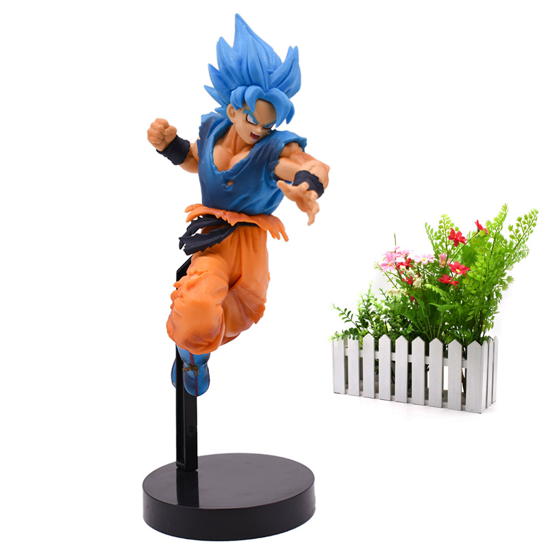 Amine Doll Dragon Ball Z ULTIMATE SOLDIERS SUPER Son Goku PVC Action Figure Collection Model Christmas Toy 20 cm