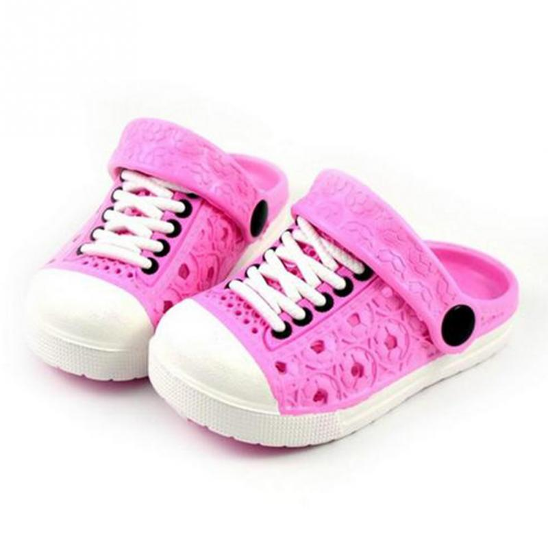 Hot Sale Casual Slippers shoes Sandals 2018 Summer Super Hot EVA Plastic Clogs Shoes Boys and Girls Like Baby