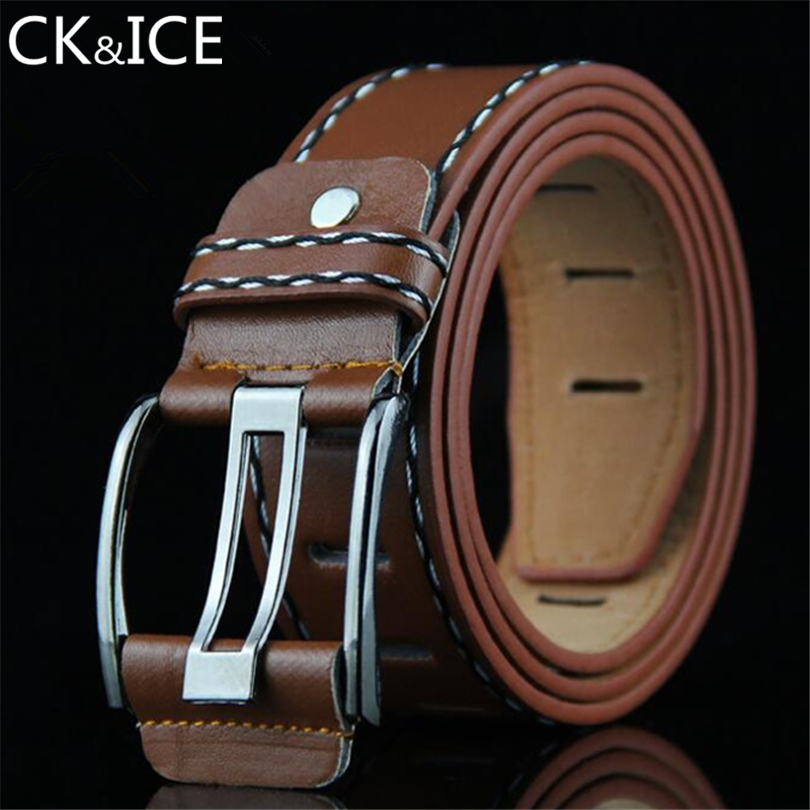 Ck&ice Belts European Casual Fashion Match Jeans Men High Quality Luxury Designers Famous Brand Formal Men Belt Waistband Casual High Safety