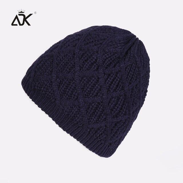 b02a0ba306 Plain Beanie Men Cotton Blends Solid Warm Cap Women's 2018 Fashion Cross  Knitted Hat Female Casual Warm Beanies For Girls Winter