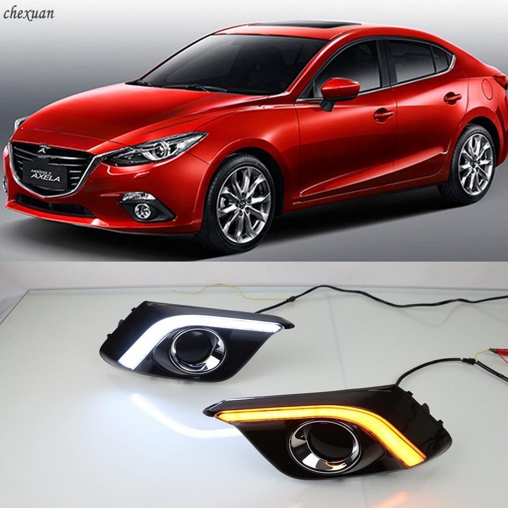 CSCSNL 1 Set For Mazda 3 Axela 2013 2014 2015 2016 DRL Daytime Running Lights 12V