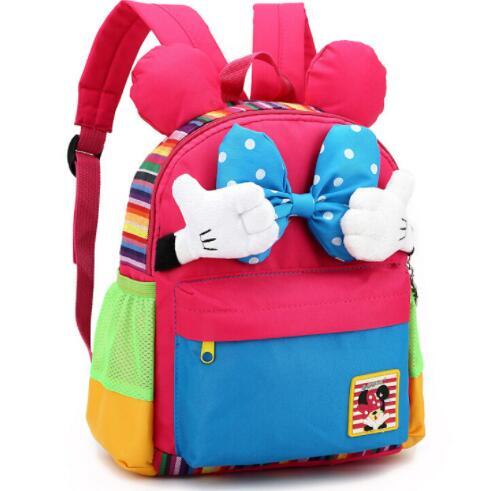 Cartoon Kids School Backpack Children School Bags For Kindergarten Girls Boys Nursery Baby Student book bag mochila infantil