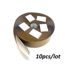 10 шт. изоляционные пасты для углеродных напольных нагревательных пленок самоклеящаяся изоляционная мазня