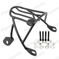 Black Solo Seat Luggage Rear Fender Rack For Harley Sportster XL1200 XL883 2004 2005 2006 2007 2016