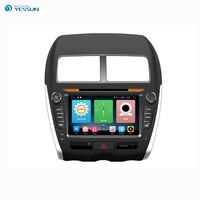 Yessun навигационная система для Android gps для Mitsubishi Asx 2010 ~ 2017 HD сенсорный экран Аудио Видео радио мультимедиа стерео плеер.