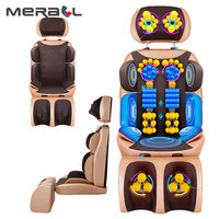 Multi functional Massage Chair Home Pad Relief Cervical Neck Waist Shoulder Body Pain Massager Electric Massage Chair