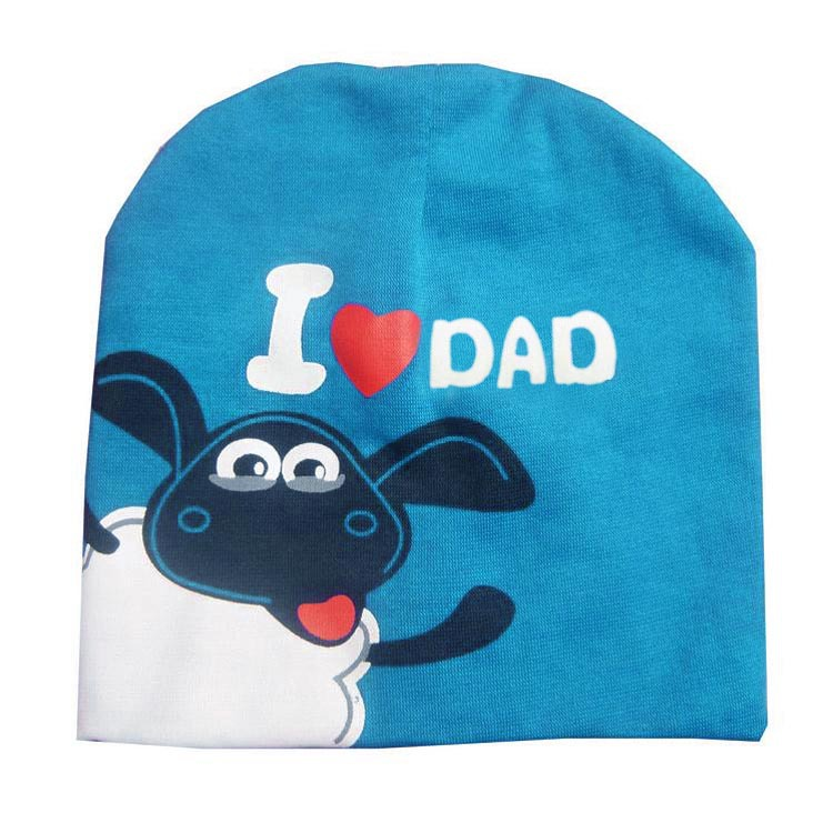 I LOVE DAD&MUM Autumn Winter Cotton Baby Hat Girl Boy Toddler Infant Kids Caps Brand Lovely Baby Beanies Accessories