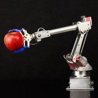 2018 7Bot 6 Axis Robot Arm High Torque with Digital Servo Op en Source Ar duino Aluminum Education Robot Arm