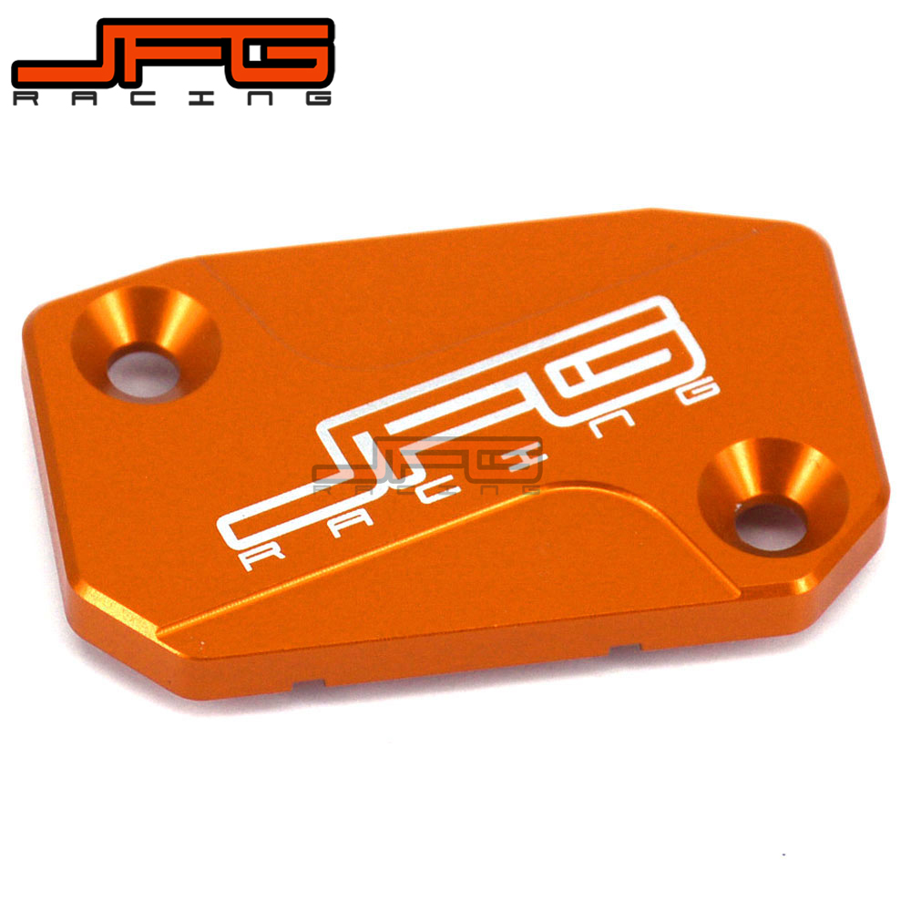 CNC Front Brake And Clutch Fluid Reservoir Cover Cap For KTM SX EXC EXCF SMR SXF XCF EXC 125 150 200 250 300 350 400 450 500 530 image