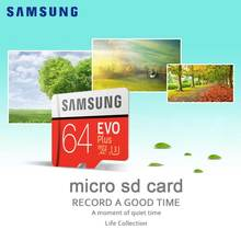 SAMSUNG Micro SD Memory Card 64gb Class10 TF micro SD Memoria Card SDHC/SDXC UHS-I 64G with Ring holder For Smart phone & Tablet