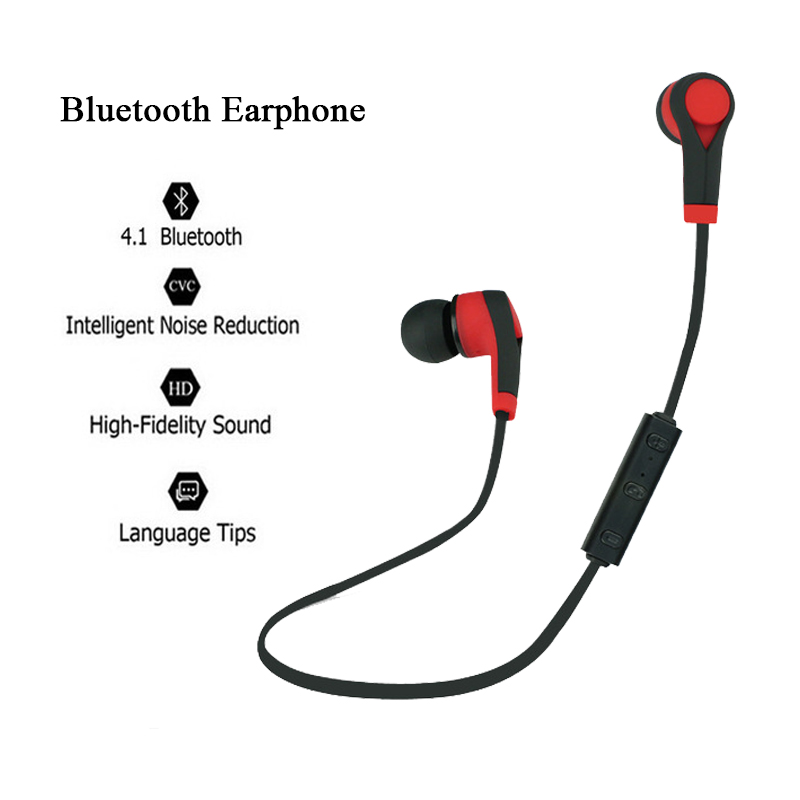 Newest Blutooth Earphone for Mobile Phone Wireless Headset for iPhone Xiaomi Handsfree Bluetooth Sport Earphones