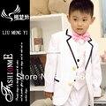 Свадьба костюмы для мальчики-младенцы 7 комплект 2 - 12 возраст жестяная банка быть согласно требованиям клиента блейзеры костюмы