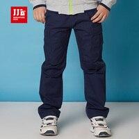 Boys Cargo Pants Kids Ruffle Pants Spring 2016 Children Pants Warm Durable Size 8 16t Kids