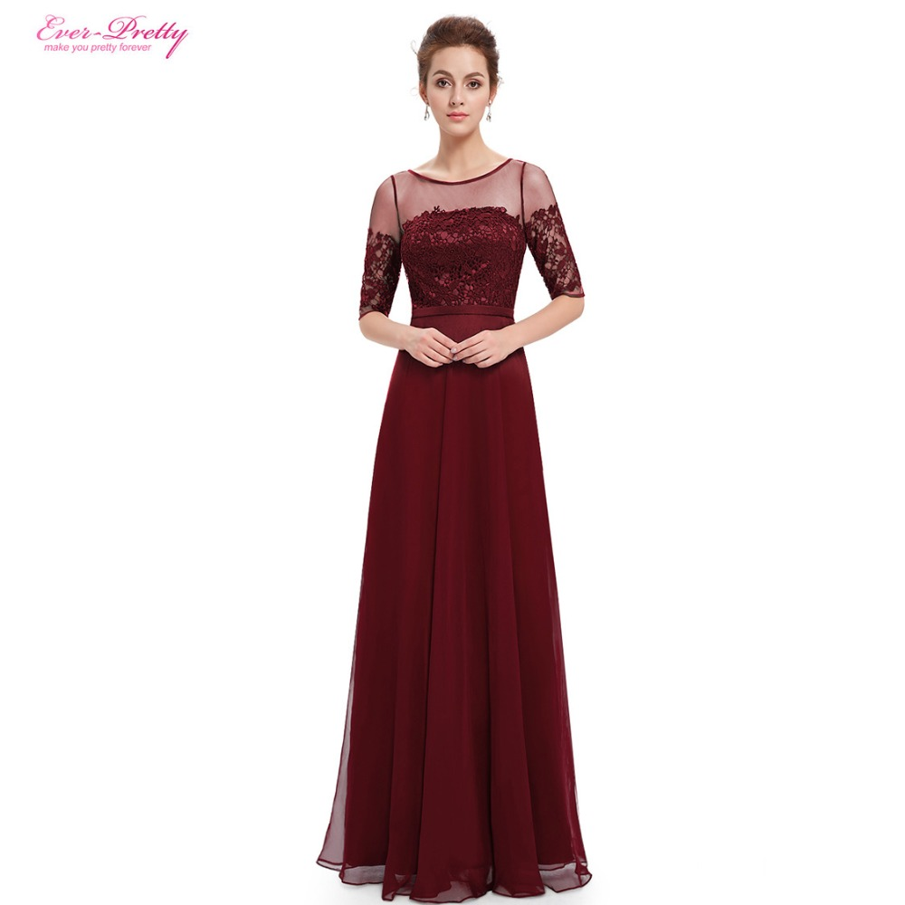 2018 Prom Dresses Ever Pretty HE08459 New Arrival Elegant Green Half ...