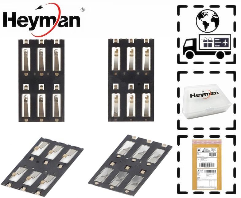 Heyman Sim Cards Adapters for Xiaomi Mi3 3 M3 Mi 3 Sim card Socket reader holder tray slot adapter connector
