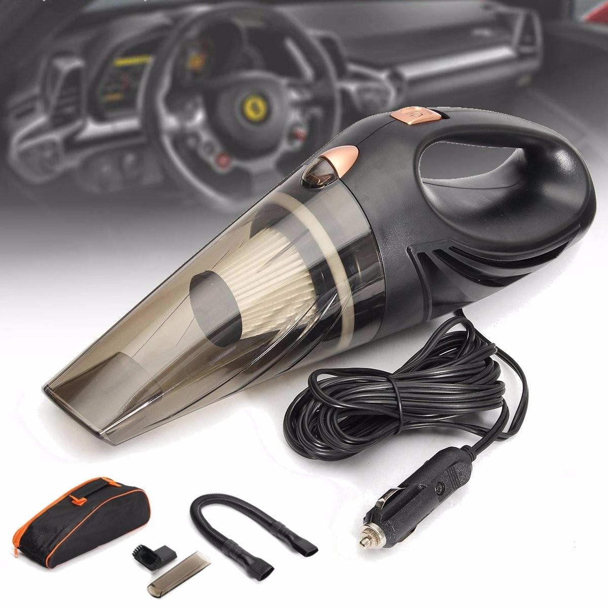 Car Vacuum 12V 106W Wet Dry Dual Use Car Vacuum Cleaner Vehicle House Automobile Portable Car Handheld Vacuum Cleaner
