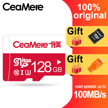 CeaMere Memory Card 256GB 128GB 64GB U3 UHS-3 32GB Micro sd card Class10 UHS-1 flash card Memory Microsd TF/SD Cards for Tablet