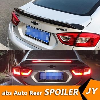 For Chevrolet Cruze ROOF Spoiler 2017-2019 Cruze spoiler High Quality ABS Material Car Rear Wing Primer Color Rear Spoiler