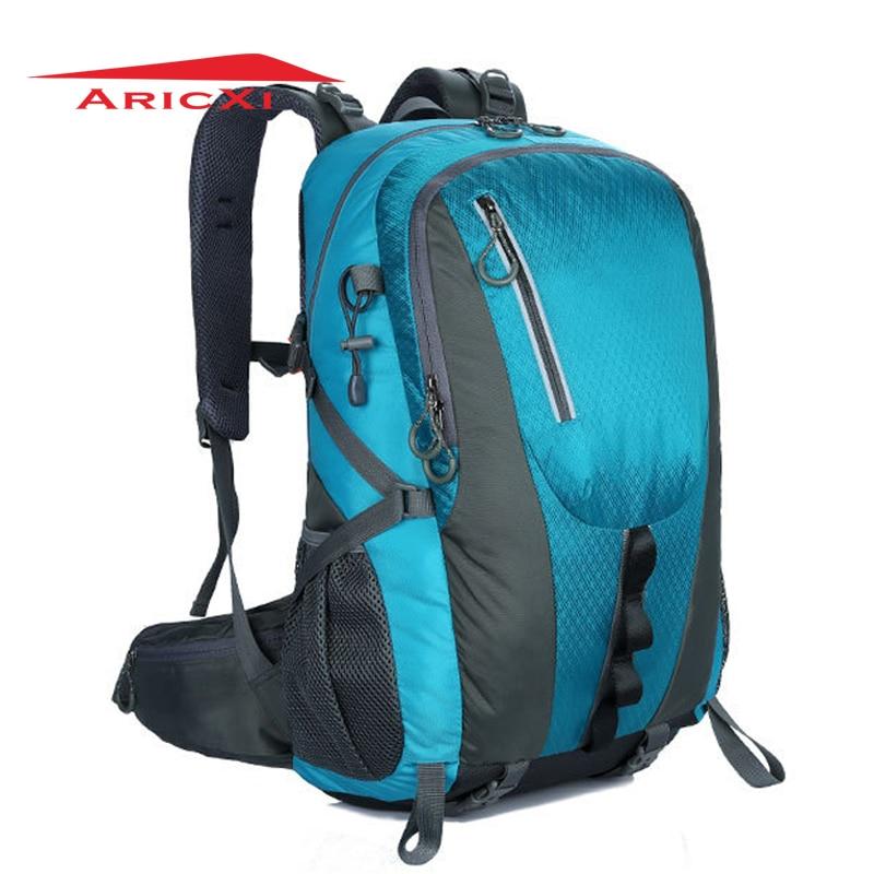 купить ARICXI Outdoor Camping Hiking Backpack Sports Bag Travel Trekk Rucksack 40L Mountain Climb bag for Men Women males Teengers по цене 2284.72 рублей