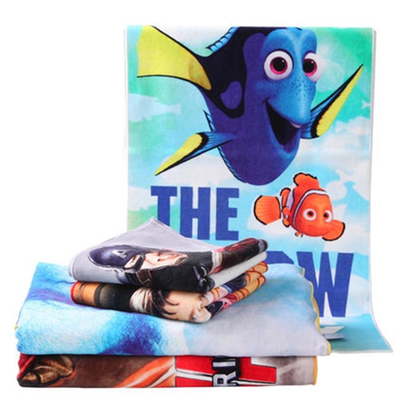Disney impression numérique serviette de bain visage serviette ensemble 100% coton voyage séchage rapide en plein air Sports hip-hop natation Gym adultes - 5