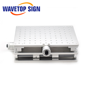 Image 3 - WaveTopSign 2D Worktable Fiber Laser Mark Machine 2 Axis Moving Table 300*220*90mm XY Table