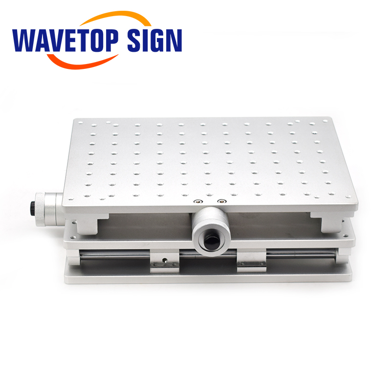 WaveTopSign 2D Worktable Fiber Laser Mark Machine 2 Axis Moving Table 300x220x90mm XY Table