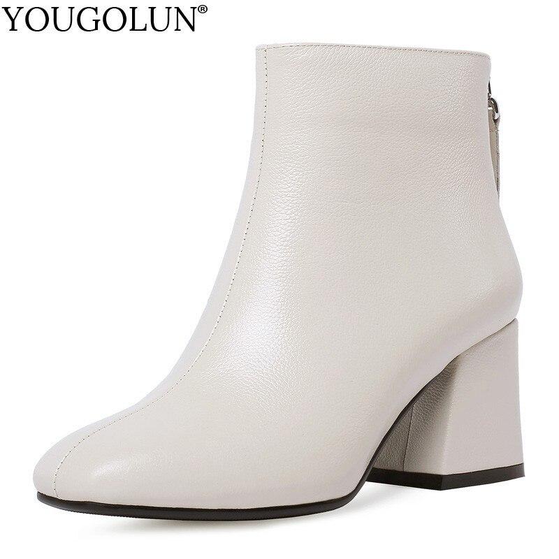 bottes femme cuir veritable