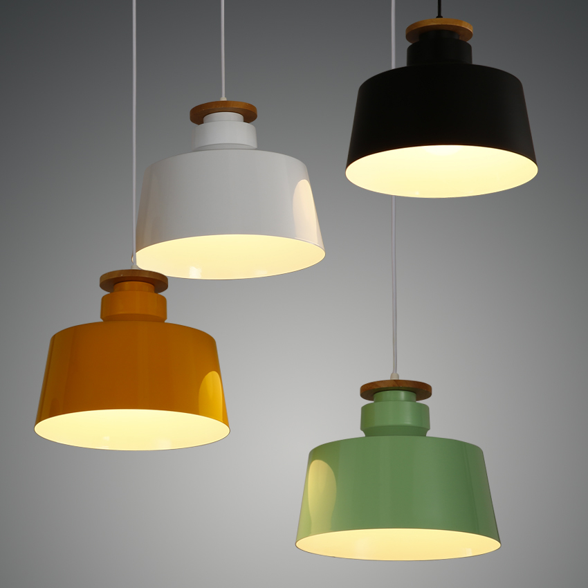 Nordic restaurant modern simple Pendant Lights screative restaurant bedroom living room color small pendant lamp FG927 chinese style classical wooden sheepskin pendant light living room lights bedroom lamp restaurant lamp restaurant lights