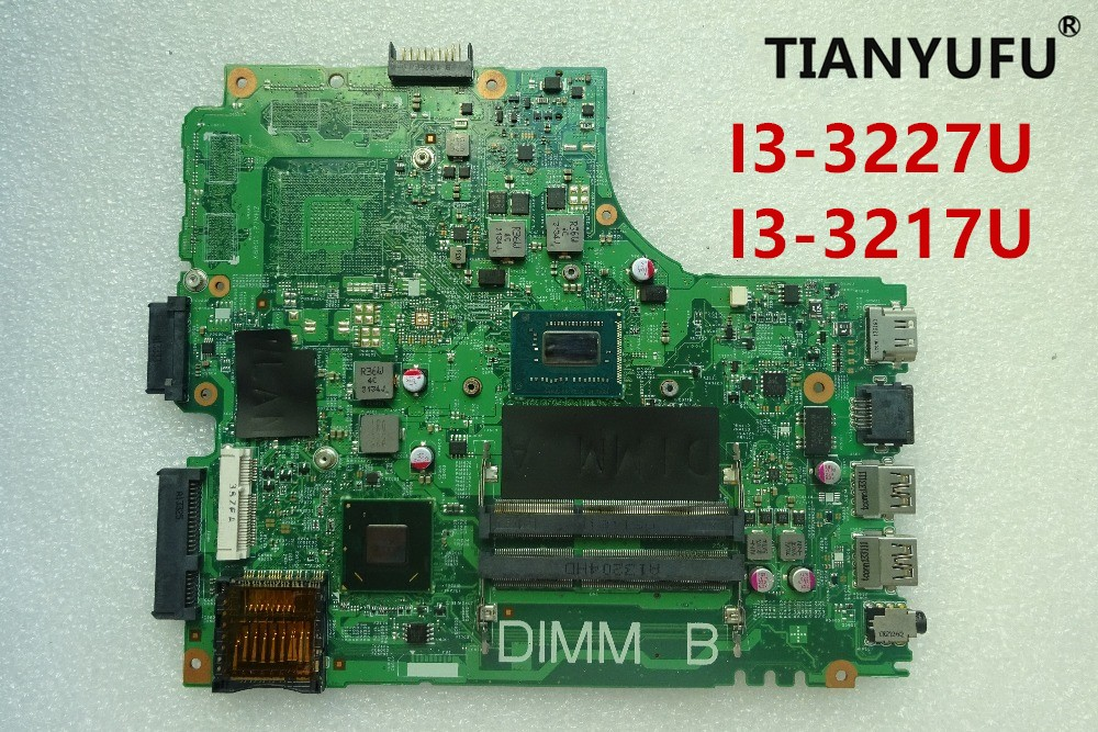 Free shipping FOR DELL inspiron 14R 3421 Laptop motherboard HM77 12204 1 REV A00 i3 3227U