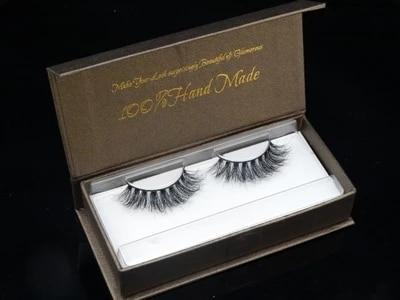 Pure Handmade 100% real Mink False eyelashes 4