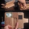 Doogee disparar 1 case, 2017 nueva moda de lujo del tirón de la pu de cuero cajas del teléfono del silicio para doogee disparar 1 envío gratis