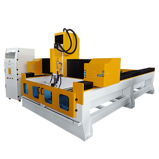 High Quality 1325 Cnc Stone Router Machine For Marble Carving Granite Cutting Polished