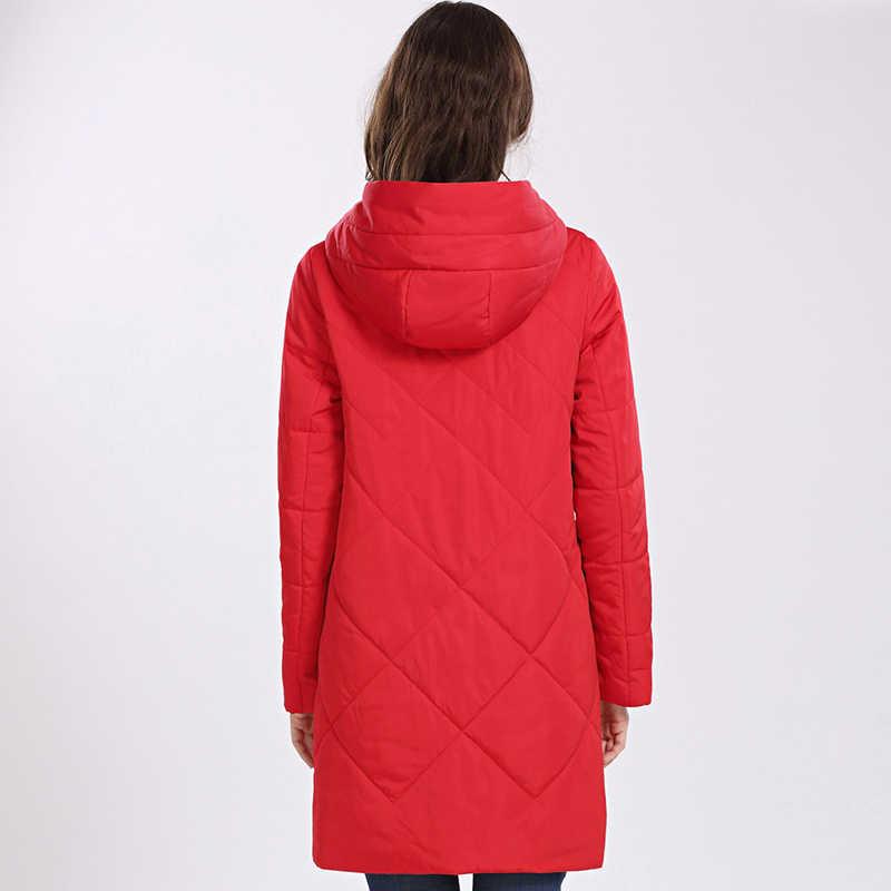 Frauen Mantel Frühling Autum 2020 Heißer verkauf Dünne Baumwolle Parka Lange Plus Größe Kapuze Frauen Jacke Neue Designs Mode outwear